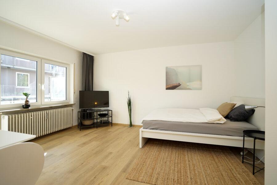 Neu möblierte City-Wohnung in Neu-Ulm an der Donau 89231 Neu-Ulm, Etagenwohnung